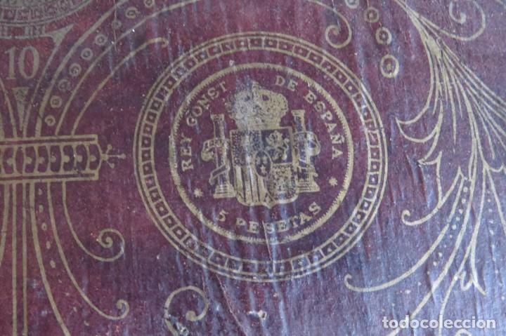 Juegos de mesa: ANTIGUO BILLARIN BILLAR MADERA - ALFONSO XIII 1898 - PIN BALL - MILLONCETE - MILLON - Foto 9 - 138240426