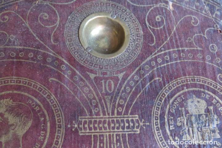 Juegos de mesa: ANTIGUO BILLARIN BILLAR MADERA - ALFONSO XIII 1898 - PIN BALL - MILLONCETE - MILLON - Foto 10 - 138240426
