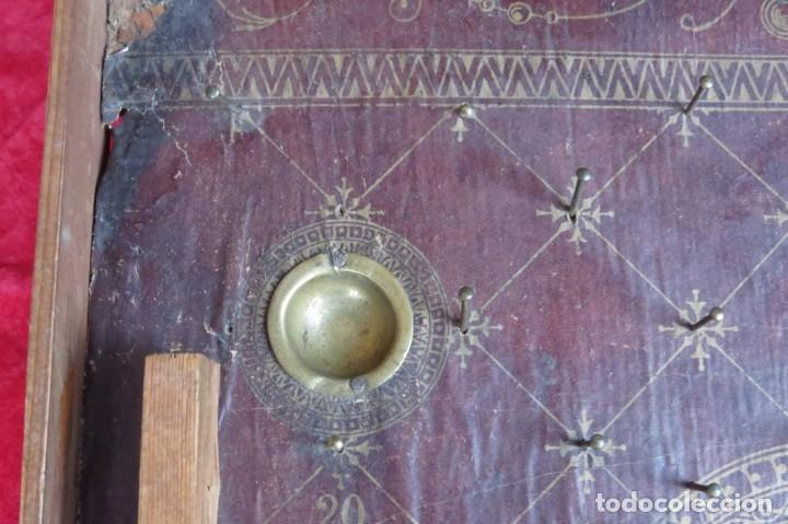 Juegos de mesa: ANTIGUO BILLARIN BILLAR MADERA - ALFONSO XIII 1898 - PIN BALL - MILLONCETE - MILLON - Foto 15 - 138240426