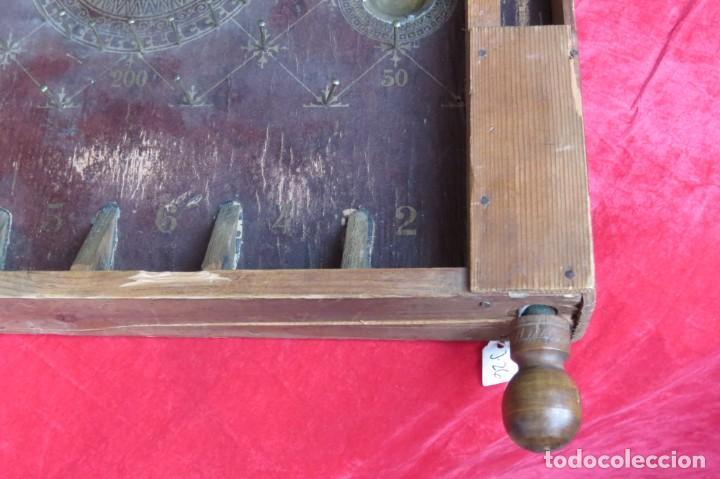 Juegos de mesa: ANTIGUO BILLARIN BILLAR MADERA - ALFONSO XIII 1898 - PIN BALL - MILLONCETE - MILLON - Foto 23 - 138240426