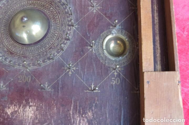 Juegos de mesa: ANTIGUO BILLARIN BILLAR MADERA - ALFONSO XIII 1898 - PIN BALL - MILLONCETE - MILLON - Foto 24 - 138240426