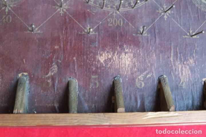 Juegos de mesa: ANTIGUO BILLARIN BILLAR MADERA - ALFONSO XIII 1898 - PIN BALL - MILLONCETE - MILLON - Foto 26 - 138240426