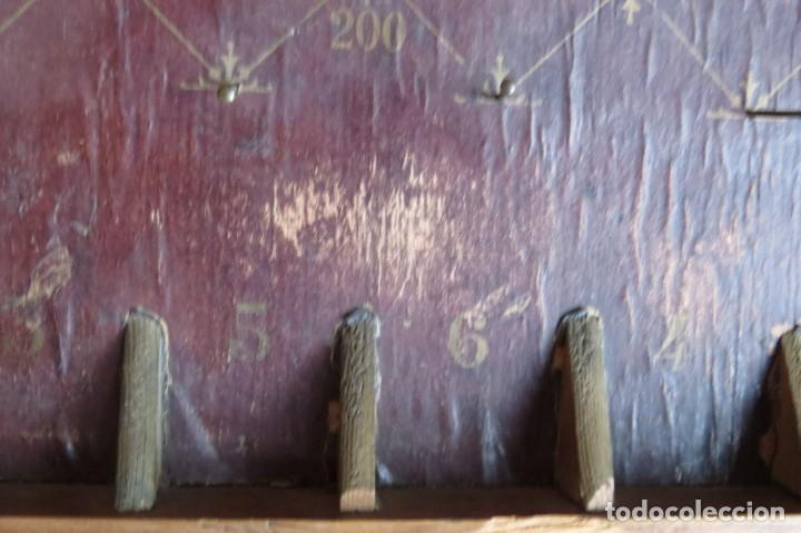 Juegos de mesa: ANTIGUO BILLARIN BILLAR MADERA - ALFONSO XIII 1898 - PIN BALL - MILLONCETE - MILLON - Foto 28 - 138240426