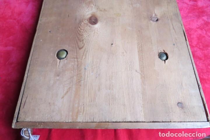 Juegos de mesa: ANTIGUO BILLARIN BILLAR MADERA - ALFONSO XIII 1898 - PIN BALL - MILLONCETE - MILLON - Foto 38 - 138240426
