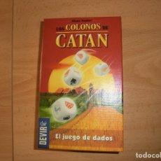 Juegos de mesa: JUEGO DE DADOS CATAN, A. Lote 138526790