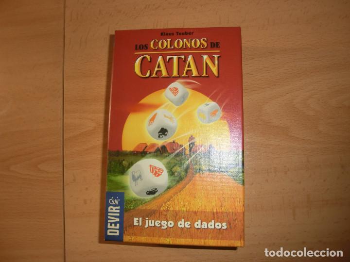 JUEGO DADOS CATAN, B (Juguetes - Juegos - Juegos de Mesa)