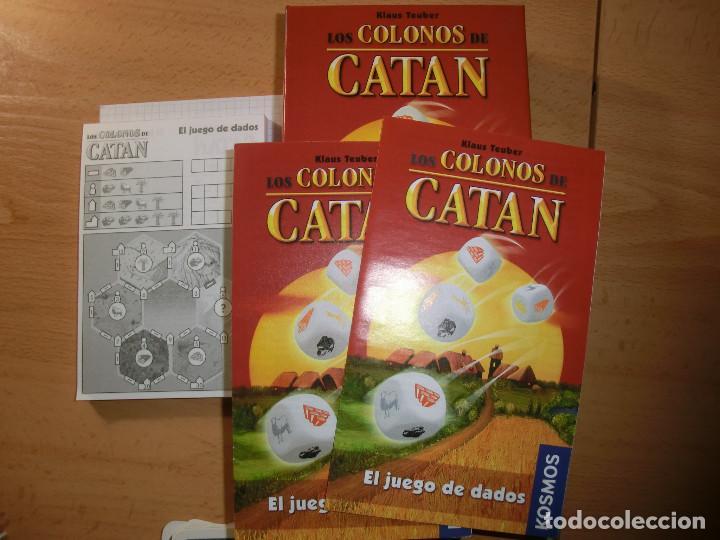 Juegos de mesa: juego dados catan, B - Foto 2 - 138526870