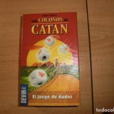 Juegos de mesa: JUEGO DADOS CATAN, C. Lote 138526998