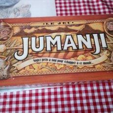 Juegos de mesa: JUMANJI. EL JUEGO. MB 1995. COMPLETO. DIFÍCIL DE ENCONTRAR. EN FRANCES.. Lote 138533430