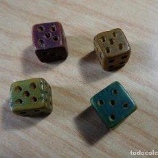 Juegos de mesa: ANTIGUO JUEGO DE DADOS DE MADERA PARCHIS, OCA ETC. ETC.. Lote 138757686