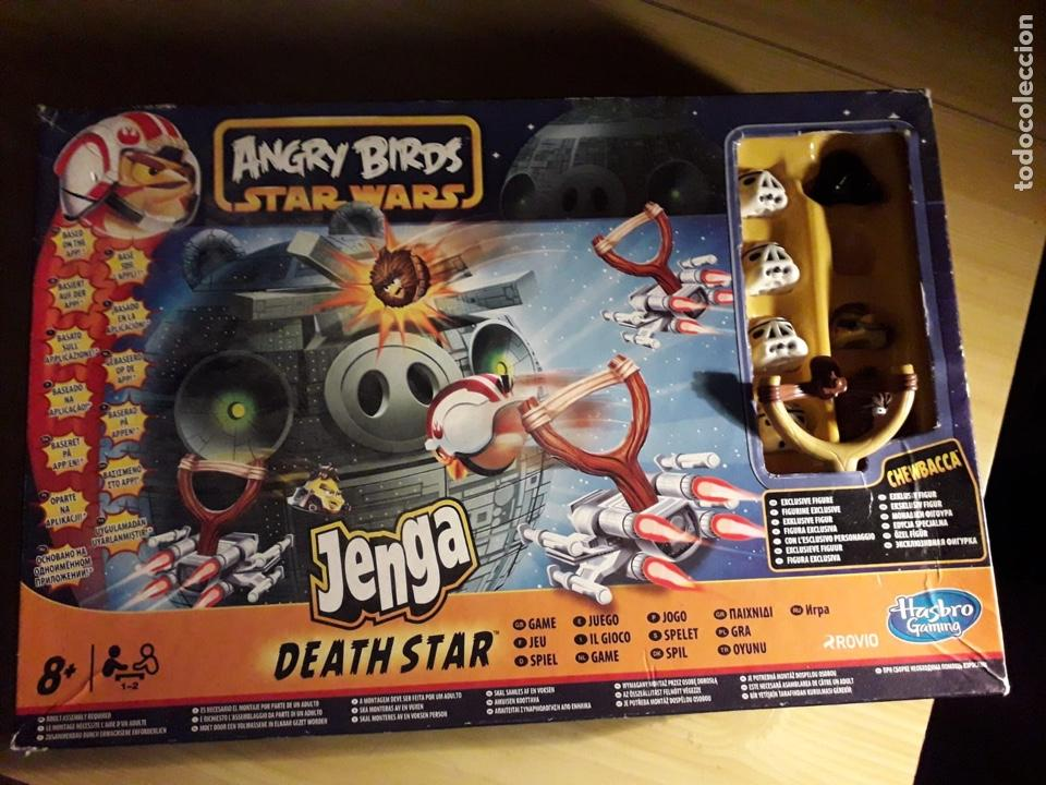 Star Wars Juego Angry Birds Jenga De Hasbro Buy Old Board Games At
