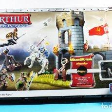 Juegos de mesa: LEGENS KING ARTHUR MERLIN'S WAR, MEGA BLOKS REF 96128, REY ARTURO, SIN USAR. Lote 138993298