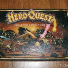 Juegos de mesa: HEROQUEST MB CAJA JUEGO MESA 1989 INGLÉS. Lote 172688770