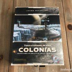 Juegos de mesa: JUEGO DE MESA - COLONIAS - EXPANSIÓN PARA TERRAFORMING MARS - MALDITO GAMES - PRECINTADO. Lote 139310630