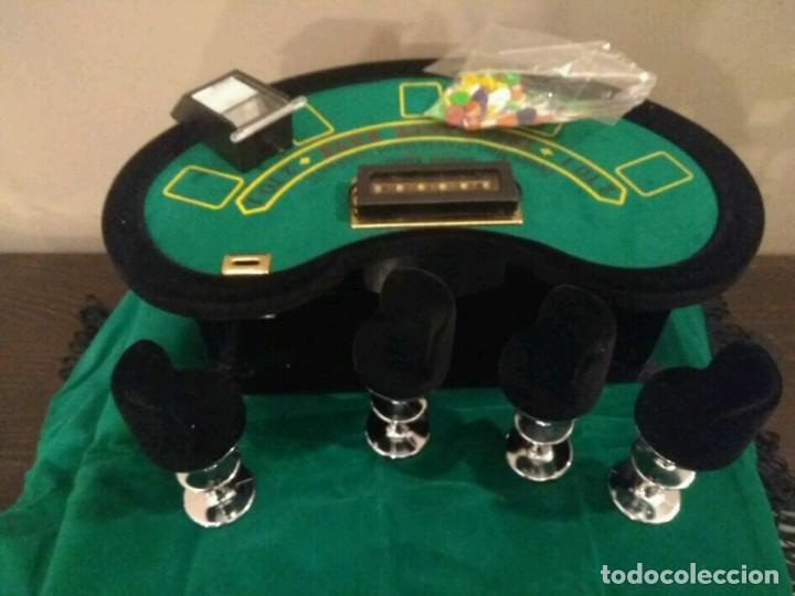 Juegos de mesa: ANTIGUO JUEGO - MINI DELUXE BLACK JACK - Foto 2 - 139361650