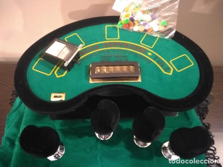 Juegos de mesa: ANTIGUO JUEGO - MINI DELUXE BLACK JACK - Foto 4 - 139361650