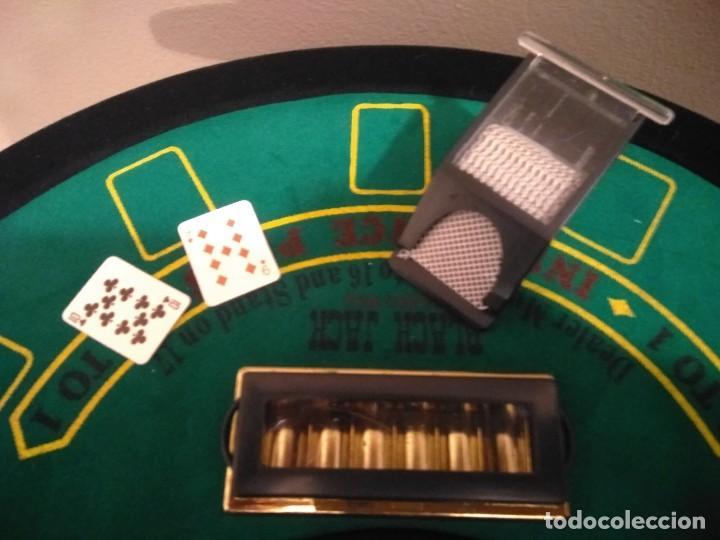 Juegos de mesa: ANTIGUO JUEGO - MINI DELUXE BLACK JACK - Foto 5 - 139361650