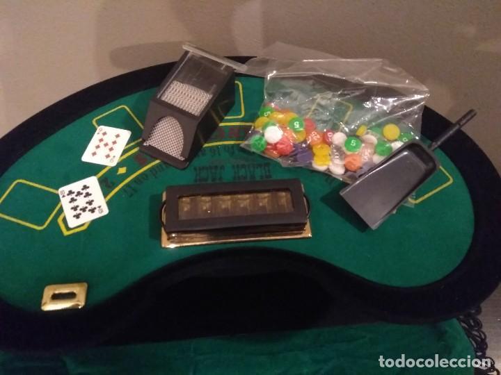 Juegos de mesa: ANTIGUO JUEGO - MINI DELUXE BLACK JACK - Foto 6 - 139361650