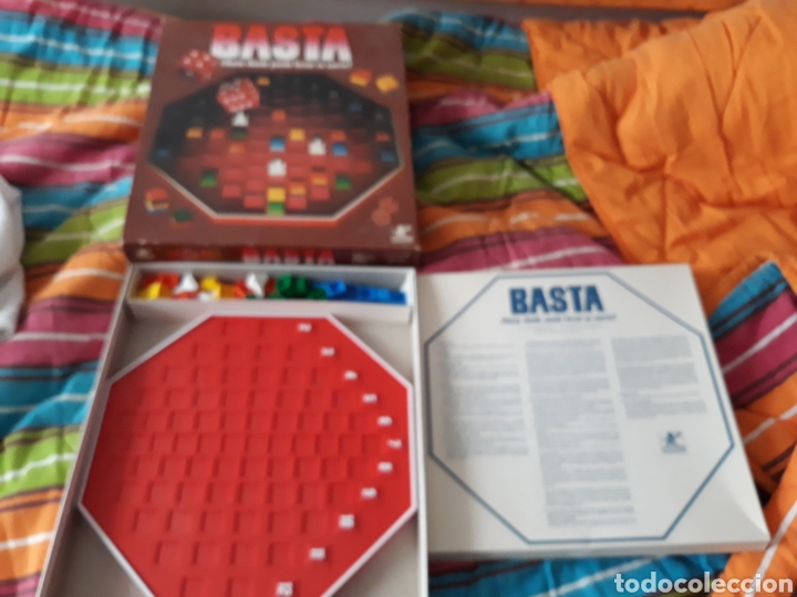 Juego De Mesa Basta De Borras Anos 80 Completo Comprar Juegos De