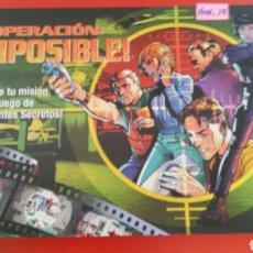 Jogos de mesa: JUEGO DE MESA OPERACIÓN IMPOSIBLE.HASBRO 2001.NUEVO EN CAJA.. Lote 210696612