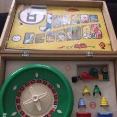 Juegos de mesa: JUEGOS REUNIDOS. NUMERO 0 0. 8 JUEGOS. CAJA DE MADERA. Lote 139652322