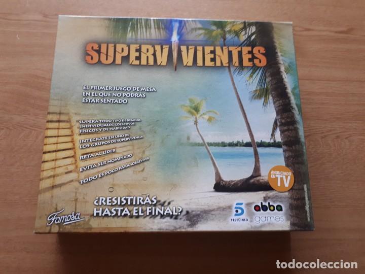 JUEGO DE MESA SUPERVIVIENTES (Juguetes - Juegos - Juegos de Mesa)