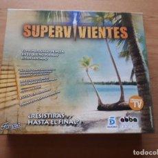 Juegos de mesa: JUEGO DE MESA SUPERVIVIENTES. Lote 139808426