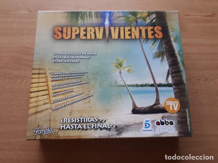 Juegos de mesa: JUEGO DE MESA SUPERVIVIENTES - Foto 2 - 139808426