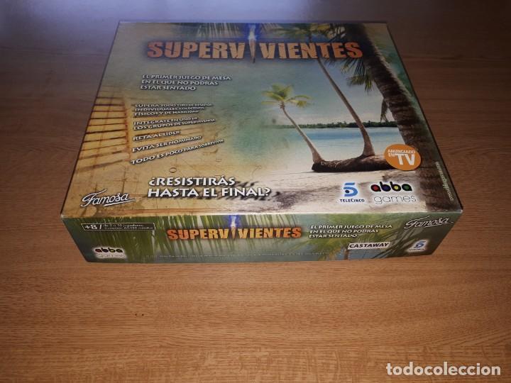 Juegos de mesa: JUEGO DE MESA SUPERVIVIENTES - Foto 3 - 139808426