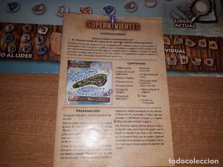 Juegos de mesa: JUEGO DE MESA SUPERVIVIENTES - Foto 5 - 139808426