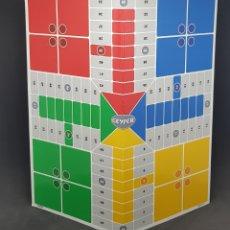 Juegos de mesa: TABLERO PARCHIS - OCA - TRES EN RAYA - JUEGOS REUNIDOS GEYPER - CAR125. Lote 139854122