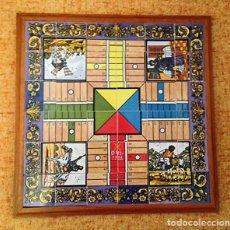 Juegos de mesa: PARCHIS CERÁMICO EL QUIJOTE - AUTENTICA CERÁMICA ARTESANAL. Lote 140052834