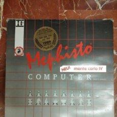Juegos de mesa: COMPUTADORA DE AJEDREZ MEPHISTO MONTE CARLO IV - CHESS COMPUTER. Lote 140064838