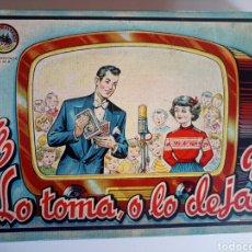 Juegos de mesa: JUEGO DE MESA LO TOMA O LO DEJA AÑOS 50 COMPLETO. Lote 140103534