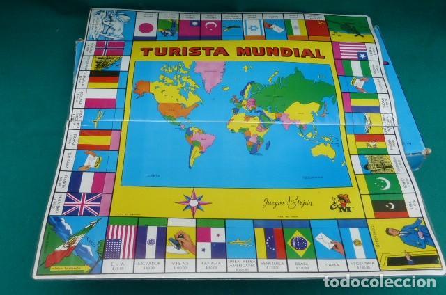 Juego De Mesa El Turista Mundial Completo Fa Comprar Juegos De