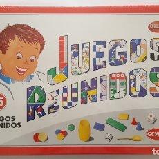 Juegos de mesa: JUEGOS REUNIDOS GEYPER, COMPLETAMENTE NUEVO SIN USO, PRECINTADO DE ORIGEN. Lote 140055686