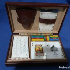 Juegos de mesa: CAJA FOURNIER CON NAIPES Y DOMINO,A ESTRENAR . Lote 140322410