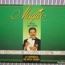 Juegos de mesa: JUEGO DE MESA MÀGIA AMB CARTES DE MÀGIC ANDREU DE EDUCA. Lote 140423090