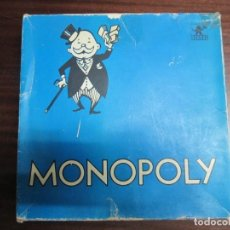 Juegos de mesa: ANTIGUO JUEGO DE MESA MONOPOLY BARCELONA AZUL JUGUETES BORRAS EN CAJA REF. 7477-B. Lote 140427778