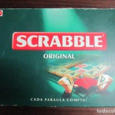 Juegos de mesa: JUEGO DE MESA SCRABBLE MATTEL ORIGINAL EN CATALAN. Lote 140429870