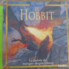 Juegos de mesa: EL HOBBIT,,LA DERROTA DEL MALIGNO DRAGON SMAUG..JUEGO DE ROL. Lote 140430706