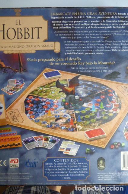 Juegos de mesa: El hobbit,,la derrota del maligno dragon Smaug..Juego de rol - Foto 5 - 140430706