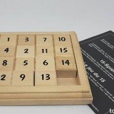 Juegos de mesa: EL JUEGO DEL 15 - CAR128. Lote 140547876
