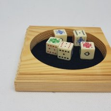 Juegos de mesa: JUEGO POKER - DADOS - CAR128. Lote 140570182