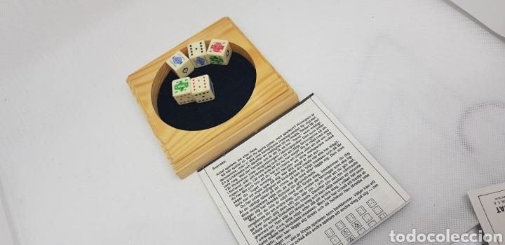 Juegos de mesa: juego poker - dados - car128 - Foto 2 - 140570182