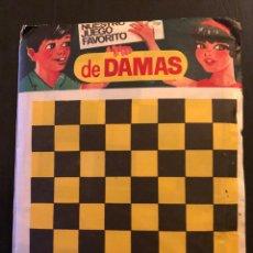 Juegos de mesa: SOBRE DE JUEGOS AÑOS 70 80 LAS DAMAS NO MONTAPLEX . Lote 140647365