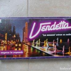 Juegos de mesa: JUEGO DE MESA VENDETTA DE BORRAS AÑOS 80. Lote 140723562