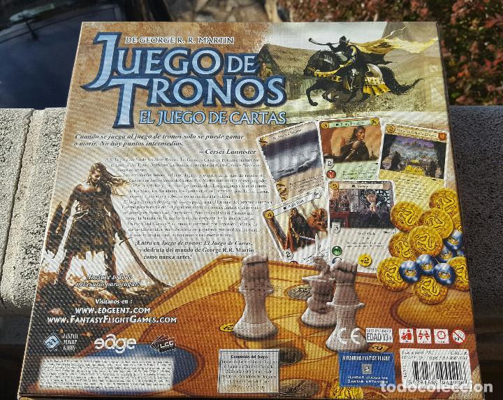 Juego De Tronos El Juego De Cartas George R Comprar Juegos De