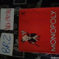 Juegos de mesa: ANTIGUO MONOPOLY BORRAS CAJA ROTA EN APARIENCIA COMPLETO BIEN CONSERVADO, LA CAJA NECESITA PÑA REPAR. Lote 190634913
