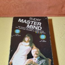Juegos de mesa: SUPER MASTER MIND DE H.H. 1976.. Lote 140867990